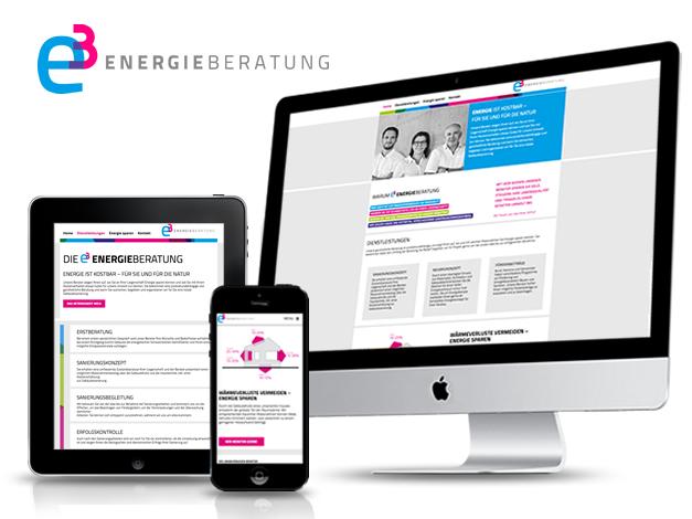 e3 Energieberatung – Webseite